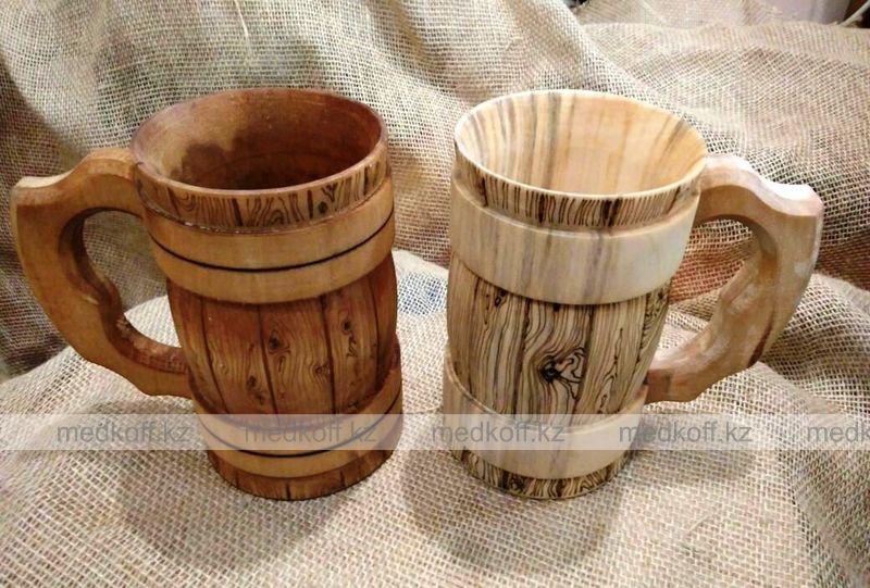 Кружка деревянная